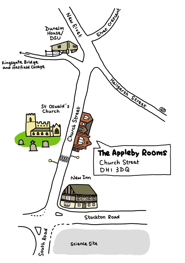 Appleby Rooms Map